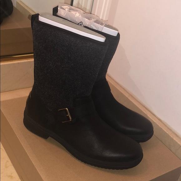 385e81aa836 Women's UGG Robbie Boot Black Size 9 NWT